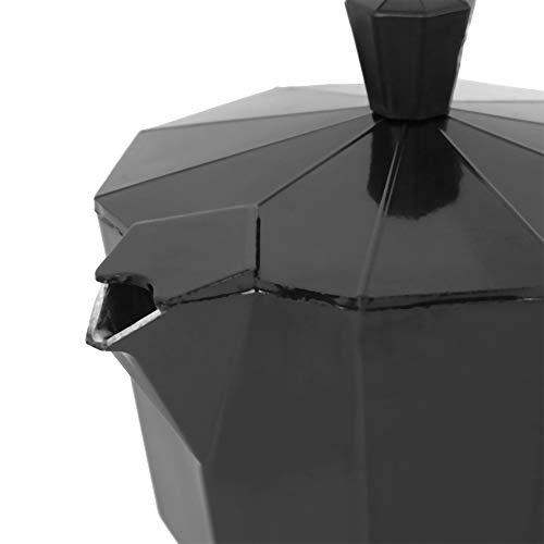 Socobeta Suministros de café Conveniente cafetera Oficina Hacer café Hold Café para el hogar (negro)