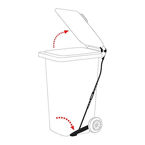 Pedal FLIDOX regulable para contenedores de basura para eliminar residuos de forma higiénica y con las manos libres