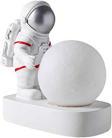 SSMDYLYM Astronaut Spaceman Moon depot Night Bedroom Light trend rank Des Bedside