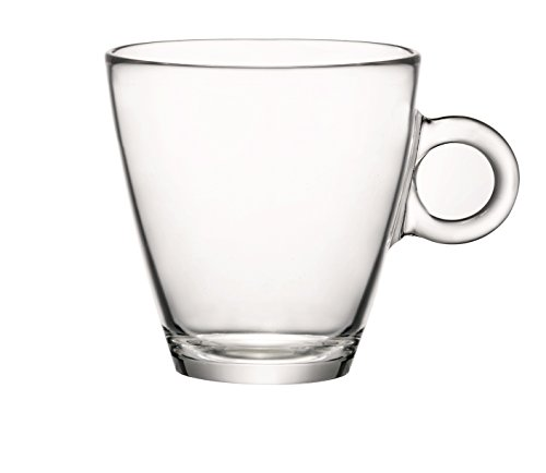 Large Tasses à thé en verre trempé 32 cl (11 ¼ oz)