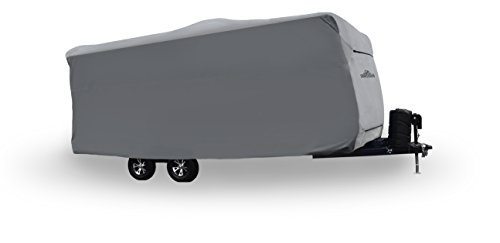 Wolf by Covercraft CY31043 Travel Trailer RV Cover 24'1' - 26' , Gray