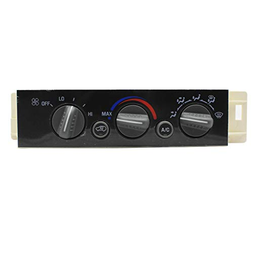 LAFORMO Heater A/C Control Panel w/o Rear Window Defogger Fits Chevy GMC Pickup Truck 9378815 599-007 16238895