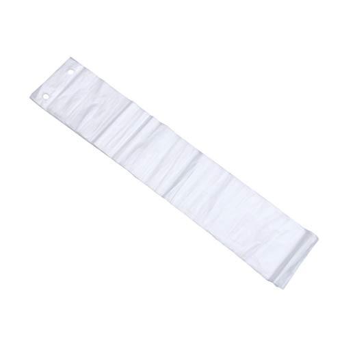 Cabilock 200 Piezas Bolsas de Lluvia Paraguas Desechables Cubierta de Paraguas Impermeable Transparente Fundas de Plástico Transparente Cubierta de Paraguas Automática