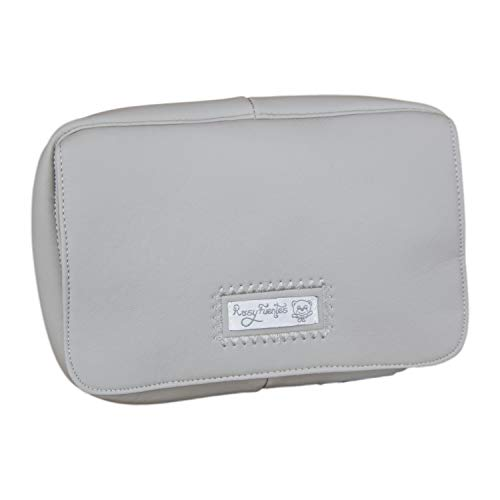 Porta toallitas húmedas Fuentes en color gris