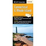 Connecticut and Rhode Island Road Map