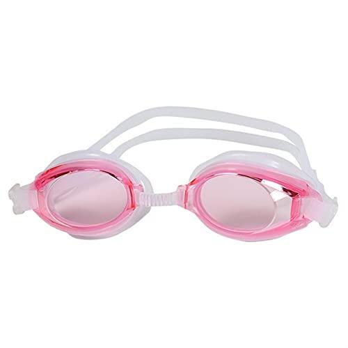 LJLCD Tubería de Agua Gafas de natación de Silicona Profesional Anti-Niebla UV Gafas de natación con tapón para Hombres Mujeres Adluts Impermeable y antivaho, Muy Adecuado para Nadar. (Color : P)