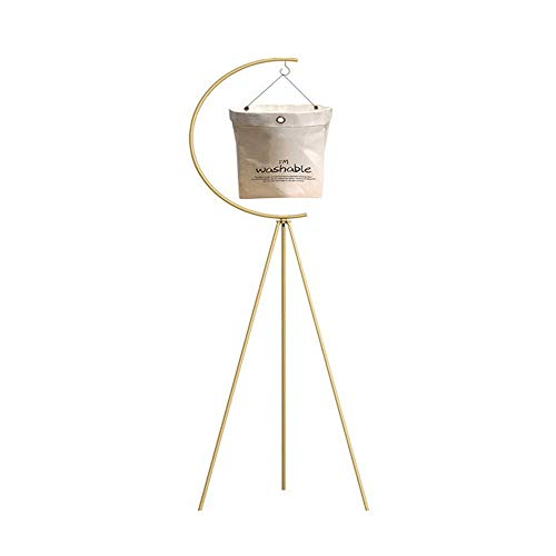 Blumentopf-Halter – Goldenes Eisen-Dreibein-Stativ, multifunktional, zum Aufhängen, für drinnen und draußen, für Garten, Balkon, Pflanzen-Display