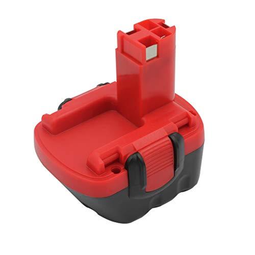 KINSUN vervangende elektrische gereedschapsbatterij 12V 3.0Ah Ni-MH voor Bosch Draadloze boor 2 607 335 261 2 607 335 262 2 607 335 273 2 607 335 274 2 607 335 374 2 607 335 375 GSB 12 VE-2 PSB 12 VE-2 PSR 12VE