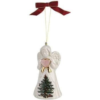 Candy Cane Bell Portmeirion 4056850 Spode Christmas Tree Ornament