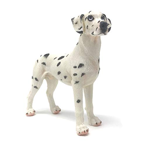 Farship Lifestyle Dalmatian Dobermann Resin Dog Figurines Ornaments, Deluxe Canine Decorations Gifts, Home & Garden (Standing Dalmatian Dog)