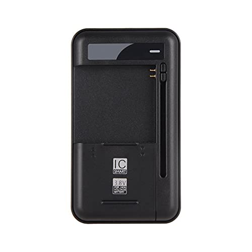 HANLILI kasu Cargador de batería Universal con USB Puerto de Salida Ajuste para la batería de Alto Voltaje de 3,8 V para Samsung Galaxy S2 S3 S4 J5, Nota 2 3 (Socket Standard : EU)