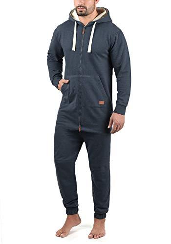 Blend Salinho Herren Overall Jumpsuit Mit Kapuze, Größe:M, Farbe:Navy (70230)