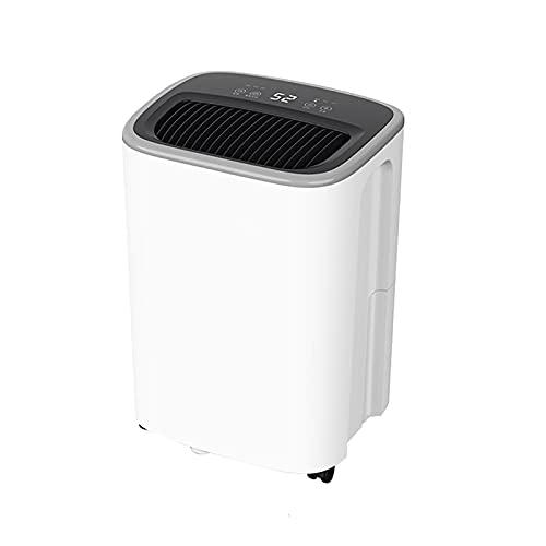 Deshumidificador para la función de sincronización del hogar, portátil, compacto y eléctrico, deshumidificador ultra silencioso, para sótano, baño, dormitorio, cocina, armario, RV