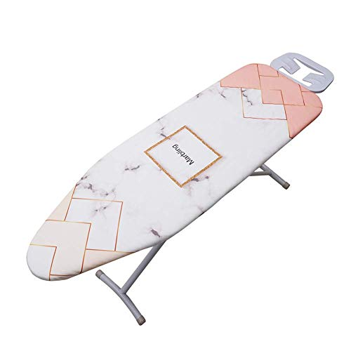 QCWN Ironing Board CoverThicken Heat Resistant Ironing Board Cover with Elastic Cord Easily Handle ExtraLarge Sized Board Replacement Cover with Good Cushioning