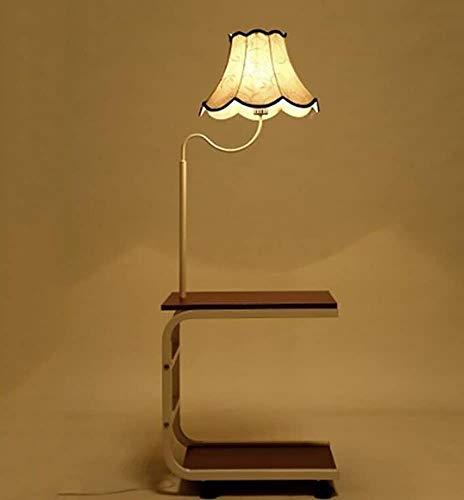 Holzstehlampe Bücherregal chinesischem Tee Tischlampe Schlafzimmer Nachttischlampe,A