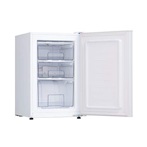 ALLEGiA(アレジア) 冷凍庫 (61L) 前開き 3段引き出し【直冷式】AR-BD62-NW
