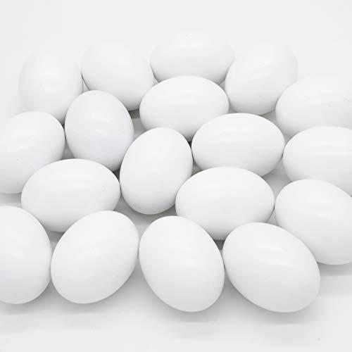 18 Pcs Easter Egg, White