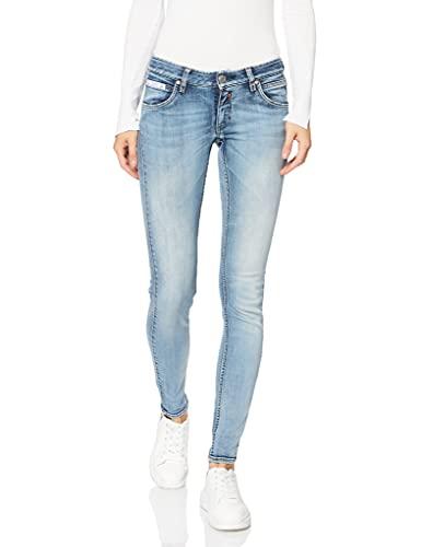 Herrlicher Damen Touch Slim Denim Powerstretch Jeans, Blau (Frost 832), W29/L32 (Herstellergröße: 29)