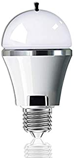 TEATRO LED Light Bulb with Built-in Air Purifier, 5w, E26/E27, Anion Bulb, Air lonizer, Negative Ion Generator, 50 Watt Light Bulbs Equivalent, 280lm, 85-265V, 2700k Soft White (White) …