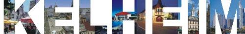 PEMA INDIGOS UG - Wandtattoo Wandsticker Wandaufkleber - Aufkleber farbige Wandschrift Städtename Städtename Kelheim mit Sehenswürdigkeiten 120 x 17 cm Länge