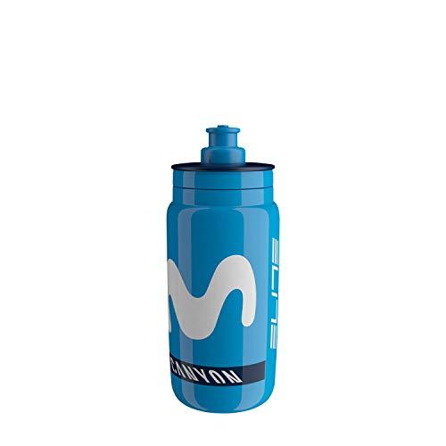 Elite Unisex's Fly Movistar 2020 - Borraccia da 550 ml, colore: Blu