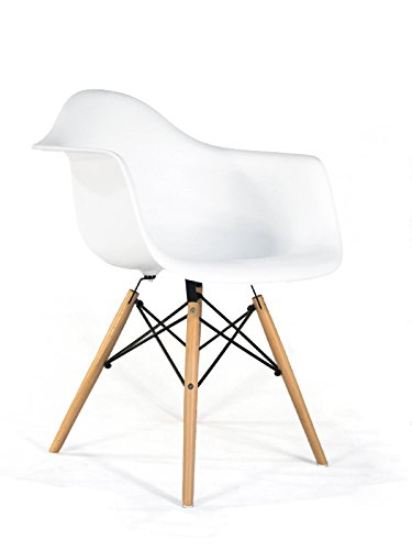 Oui Home - Sillon Tower Wood Eiffel Blanco NIÑOS