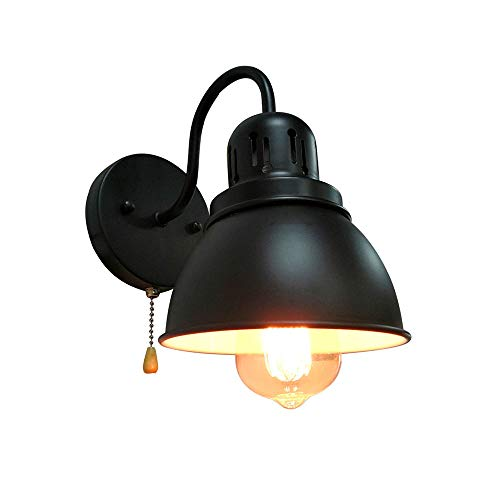 Lámpara de pared Vintage para Interior con el Interruptor de Cordón de...