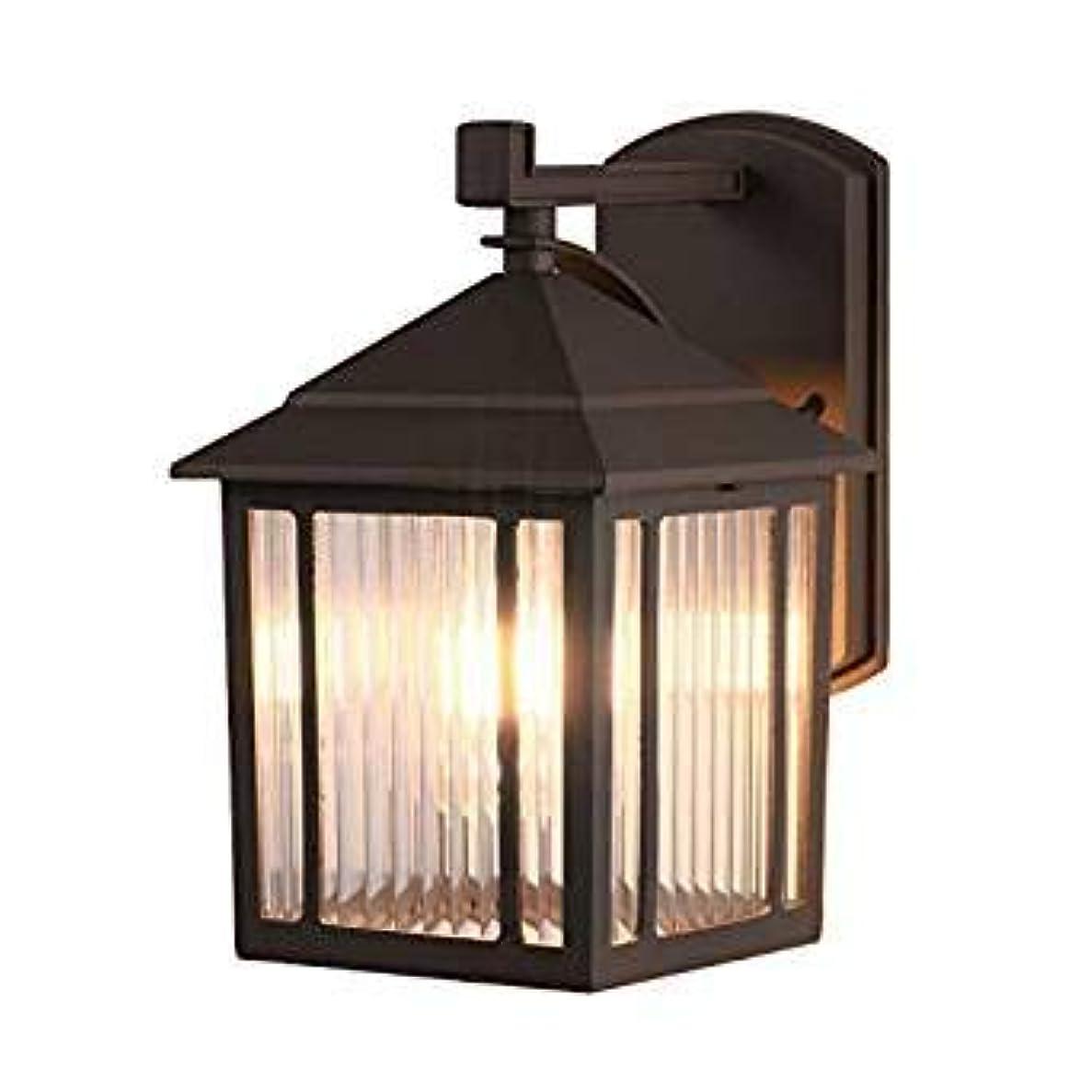 シングルやさしい腹Sakura ブラケットライト 玄関ライト ウォールランプ アンティーク調 北欧 レトロ おしゃれ 門灯 外灯 壁掛け照明 インテリア ブラック