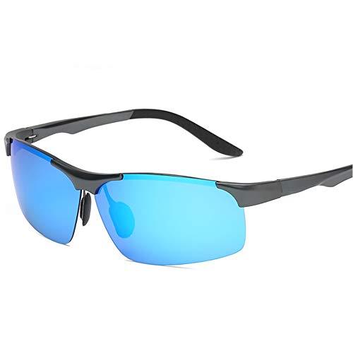 TSAR003 Gafas De Sol Mujer Polarizadas Vogue Gafas De Sol Polarizadas Hombre De Moda Protección UV400 Aptos para Conducir Blue