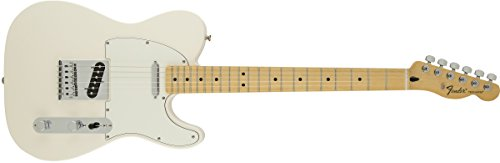 Fender Standard Telecaster Electric Guitar - Maple Fingerboard, Arctic White