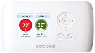 ecobee EB-EMSSi-01 2 Heat 2 Cool Energy Management System Busness/Commercial Thermostat, Full Color NON-Touch Screen, Internet Enabled by Ecobee