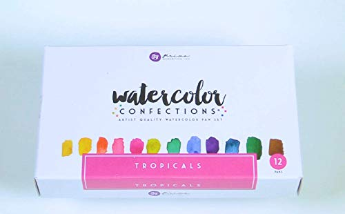 Prima Marketing Tropical Watercolor Confections