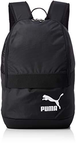 Puma Originals - Mochila unisex, Unisex adulto, Mochila, 75442, Puma Black-puma White,...