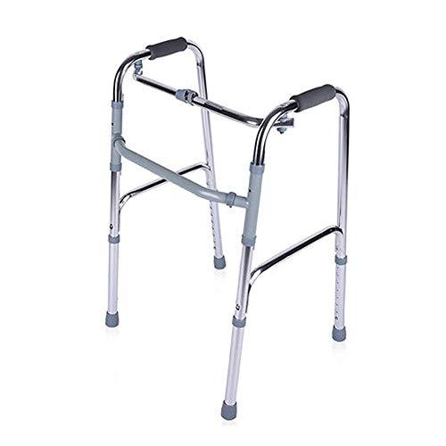XCY Medizinische Instrumente Folding Aluminium Gehhilfe Vier-Bein-Hilfs Walker