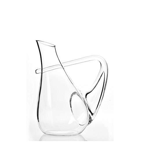 EMH stijlvolle wijn water sap glas karaf 1 liter door Krosno