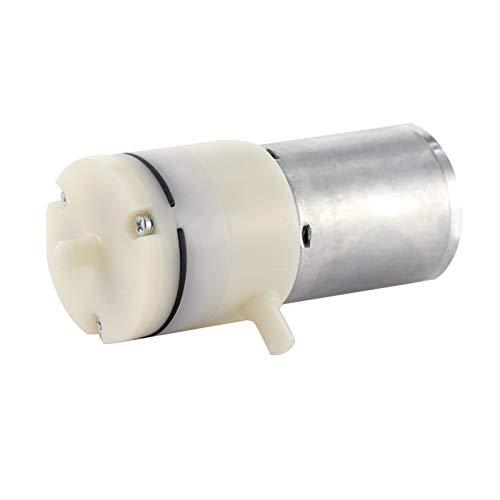 einfach zu bedienen 1pc weiße elektrische Mikro-Vakuumpumpe DC 12 V 3,7 V Micro-Luftpumpe DC Kleine Mini Motor Sauerstoffpumpe Aquarium DIY Einfach zu tragen und zu speiche