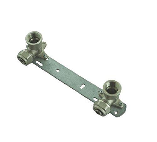Halterung für ausgesetzt Dusche Wasserhahn Anschluss 150mm x 1/2' x16 mm PEX