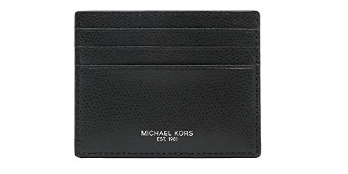 Michael Kors Mens Slim Leather Card Case Wallet