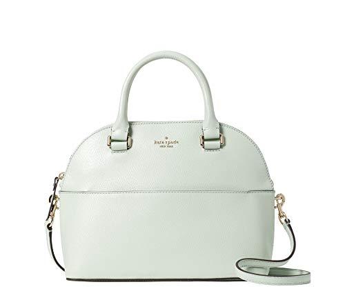 Kate Spade Grove Street Carli Leather Crossbody Bag Purse Satchel Shoulder Bag (Light Green)