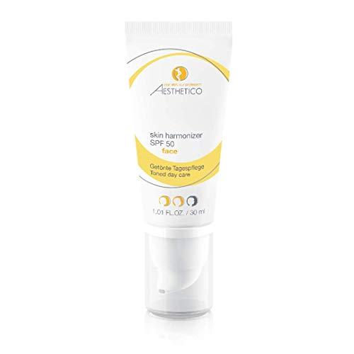 AESTHETICO skin harmonizer SPF 50 - Getönte Tagespflege mit hohem Lichtschutzfaktor für Akne,...