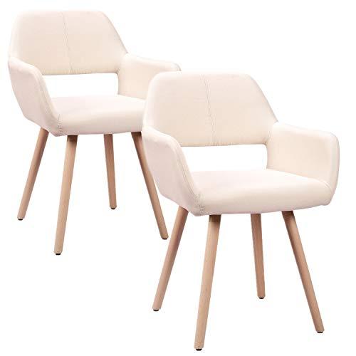 HENGMEI Set di 2 Sedie, Moderna Style Design, per La Cucina-Sala da Pranzo-Soggiorno