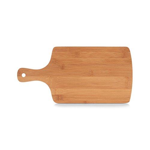Zeller–Tagliere in bambù con manico, Tagliere, Bambù, Naturale, Bambù, naturale, 40 x 19.5 x 0.9 cm