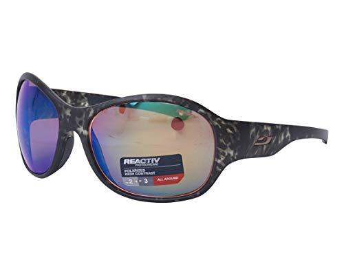 Julbo J5307320 Sonnenbrille für Erwachsene, Unisex, Schildmuster, Grau, M