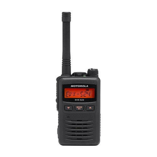 Motorola EVX-S24-BLK black 3W 256CH UHF 403-470 digital DMR HAM submersible radio