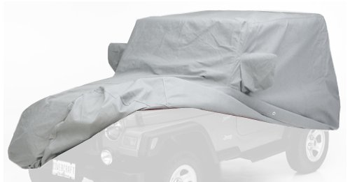 Covercraft Wolf Ready-Fit Block-It 200 Car Cover White Carton Gray C40030WC