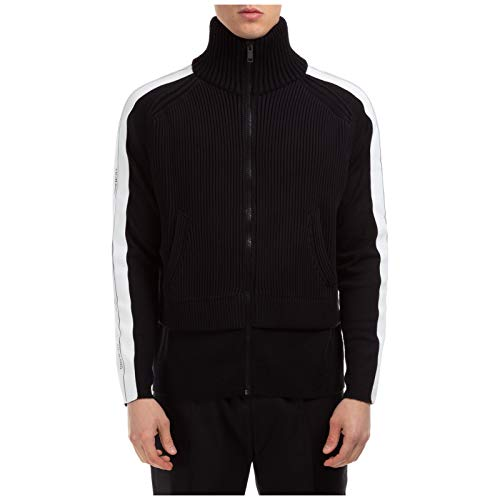 Givenchy Hombre suéter Cuello Alto Nero