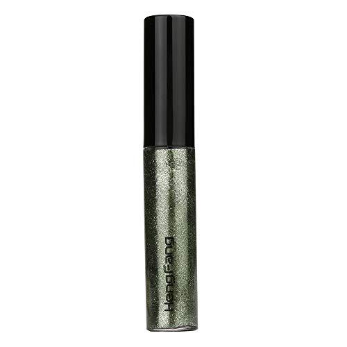 ASHOP Flüssig Glitter Eyeliner Lidschatten Wasserfest Langanhaltend Metallic Shiny Augen Make-up (8...
