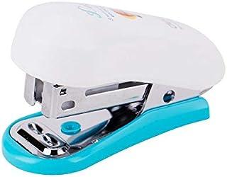small portable stapler deli brand blue color