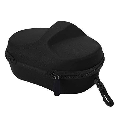 Caja de almacenamiento de máscara de buceo segura, con microfibra para GOPRO/YI/SJCAM / SJ4000 Mascarillas de buceo (Negro)
