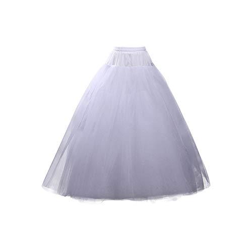 OuYou Enaguas Mujer Largas para Vestidos de Novia Boda Faldas